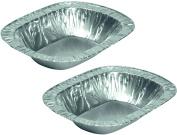 Rectangle, Oblong Foil Pie Dishes x 100