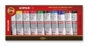 KOH-I-NOOR 016270400000 40 ml Set of Acrylic Colour Paint