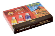 KOH-I-NOOR 016270100000 16 ml Set of Acrylic Colour Paint