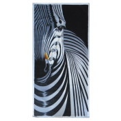 50cm by 100cm Unframed Hand Painting of Zebra For Wall Decoration