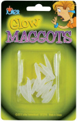 Loftus Glow In The Dark Maggots 18pc Decoration Prop, Green