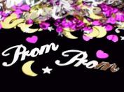 Prom Confetti Celestial Themed