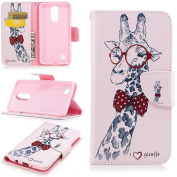 LG Aristo Case, LG LV3 Case, LG K8 (2017) Case, Everun Luxury PU Leather Purse Flip Card Pouch Stand Cover Case for LG LV3/Aristo/MS210/K8 2017