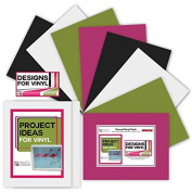 Adhesive Backed Vinyl (8 Pack) plus 2 sheets Transfer Paper