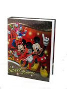 """Disney Exclusive Mickey Mouse & Friends """"Sweet Memories"""" Red Photo Album Holds 200 Photo Size Up To 10cm X 15cm"""