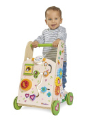 Simba Eichhorn 100005811 Sheep, Play and Learning to Walk Cart, Multi-Coloured