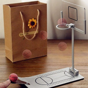 UUOUU Miniature Basketball Machine Desktop Fashion Creative Shooting Game School Office Relax Game
