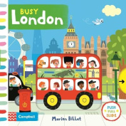Busy London (Busy Books) [Board book]