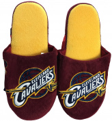 NBA Cleveland Cavaliers Men's Team Logo Slippers Burgundy