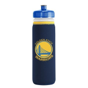 GOLDEN STATE WARRIORS SQUEEZE WATER BOTTLE FROM KOLDER