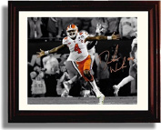 "Framed DeShaun Watson ""Championship Celebration"" Clemson Tigers National Champs! Autograph Replica Print"