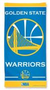 Golden State Warriors NBA 80cm X 150cm Fibre Beach Towel