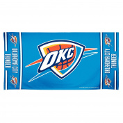 NBA Oklahoma City Thunder 30 by 60 Fibre Reactive Beach Towel