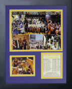 2009 Los Angeles Lakers NBA Champions 28cm x 36cm Framed Photo Collage by Legends Never Die, Inc.