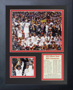 2013 Miami Heat NBA Champions Podium 28cm x 36cm Framed Photo Collage by Legends Never Die, Inc.