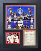 2013 Miami Heat NBA Champions Collage 28cm x 36cm Framed Photo Collage by Legends Never Die, Inc.