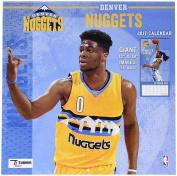 Turner Licencing Sport 2017 Denver Nuggets Team Wall Calendar, 30cm x 30cm