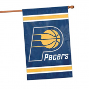 Party Animal NBA Sports Team Logo Indiana Pacers Applique Banner Flag 110cm x 70cm