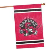 Party Animal NBA Sports Team Logo Toronto Raptors Applique Banner Flag 110cm x 70cm