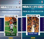 NBA Boston Celtics Licenced 2015-16 Hoops Team Plus All-Star Trading Card Set