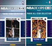 NBA Oklahoma City Thunder Licenced 2015-16 Hoops Team Plus All-Star Trading Card Set
