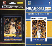 NBA Golden State Warriors 2 Different Licenced Team Set Trading Card