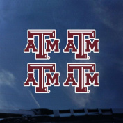 Texas A & M Aggies Transfer Decals - Set of 4