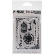 49 & Market Clear Stamps 7.6cm x 10cm -Scents Of Nature