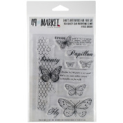 49 & Market Clear Stamps 10cm x 15cm -Gabi's Butterflies Are Free