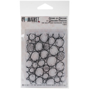 49 & Market Clear Stamps 7.6cm x 10cm -Going In Circles