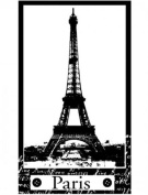 Eiffel Tower Paris France Travel Stampington And Co Wooden Rubber Stamp