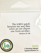Impression Obsession IO Sentiment - The Lord Watch - Red Rubber Cling Mounted Stamp B13544