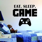 ZOMUSA Wall Stickers, Hot sell !! New Eat Sleep Game Version 2 Decal Sticker Wall Vinyl Art Design