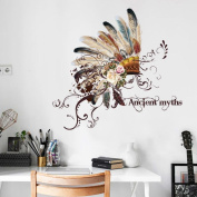 ZOMUSA Wall Stickers, Hot sell !! DIY Removable Emirates Hat Wall Decal Family Home Sticker Mural Art Home Décor House Decorated Background