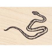 Garden Snake Rubber Stamp