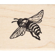 Flying Bee Rubber Stamp