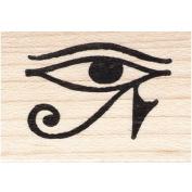Eye of Horus Right Rubber Stamp Egyptian