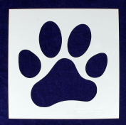 32cm Large Paw Print Stencil -Mylar 1 Piece of 14 Mil - Painting /Crafts