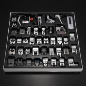 YEQIN Professional 42 PCS Domestic Sewing Machine Foot Presser Feet Set