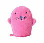 Material Security Sponge Bath Towel Products Baby Bath Sponges, Pink