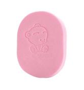 Bath Sponges Baby Bath Cotton Children's Bath Brush Products, Pink