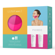 FOREO Cleansing Collection New Generation LUNA mini 2, Fuchsia + Day and Night Cleansers 60ml