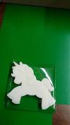 Unicorn shaped MIDI soaps x1 SLS and fragrance free approx H 7.5 x W 9 x D 1 CM