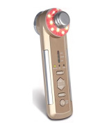 4 in 1 Ultrasonic vibration and Ion introduction and export and colour light therapy beauty instrument