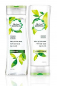 Herbal Essences Daily Detox Shine shampoo and conditioner with White Tea and mint. Bundle with Exclusive Beauty tips.