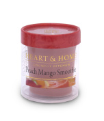 scented candle Peach Mango Smoothie