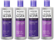 (4 PACK) Provoke Touch of Silver Colour Care SHAMPOO 2 x 200ml & Provoke Touch of Silver Colour Care CONDITIONER 2 x 200ml