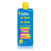 Rock the Locks Kids So Fresh and So Clean Shampoo Plus Conditioner, Natural, Toxin and Paraben Free, Phthalate Free, 350ml