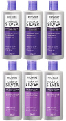 (6 PACK) Provoke Touch of Silver Colour Care SHAMPOO 3 x 200ml & Provoke Touch of Silver Colour Care CONDITIONER 3 x 200ml