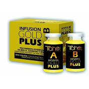 Tahe Infusion Gold A + B Plus Elexier Smoothes, Rejuvenates & Nourishes the hair 2 x 10 ml